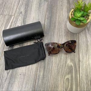 Derek Lam Chelsea tortoise shell sunglasses